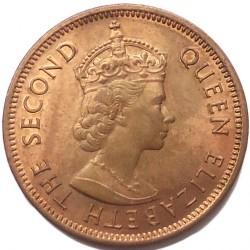 Monēta > 2centi, 1953-1978 - Maurīcija  - obverse
