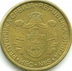 Монета > 2динара, 2006-2010 - Сърбия  - obverse