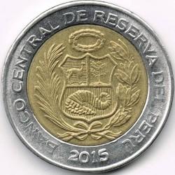 Moeda > 2novossois, 2015 - Peru  - obverse