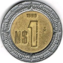 Pièce > 1nouveaupeso, 1995 - Mexique  - reverse