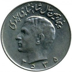 Moneta > 10rialów, 1976 - Iran  (50 rocznica - Dynastia Pahlawi) - obverse