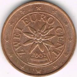 Νόμισμα > 2eurocent, 2002-2019 - Αυστρία  - reverse