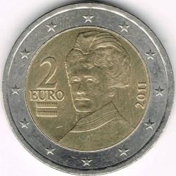 Coin > 2euro, 2008-2017 - Austria  - reverse