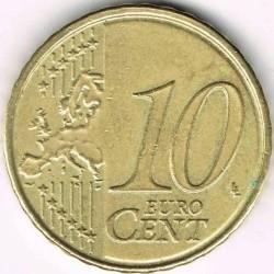 Monēta > 10eurocent, 2009-2013 - Beļģija  - obverse