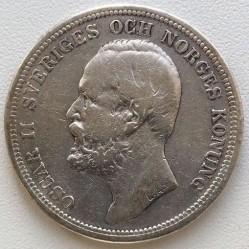 Pièce > 2couronnes, 1890-1904 - Suède  - obverse
