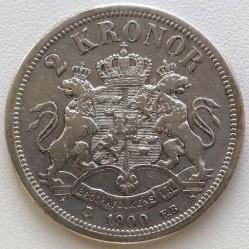 Pièce > 2couronnes, 1890-1904 - Suède  - reverse