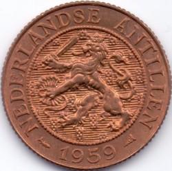 Moneda > 2½centavos, 1956-1965 - Antillas Holandesas  - obverse
