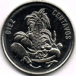 Minca > 10centavos, 1989-1991 - Dominikánska republika  - reverse