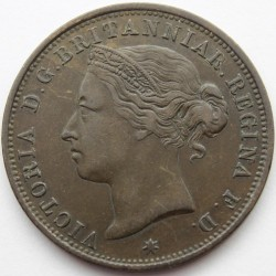 Coin > 1/12 shilling, 1877-1894 - Jersey  - reverse