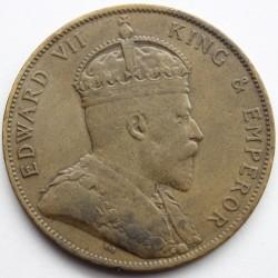 Moeda > 1/12shilling, 1909 - Jersey  - obverse