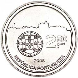 Moneta > 2½euro, 2008 - Portugalia  (UNESCO - Historyczne centrum Porto) - obverse