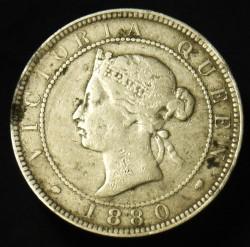 Moneda > 1penique, 1869-1900 - Jamaica  - obverse
