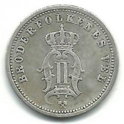 Moneta > 25erės, 1876 - Norvegija  - reverse