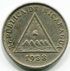 Moeda > 5centavos, 1912-1940 - Nicarágua  - obverse
