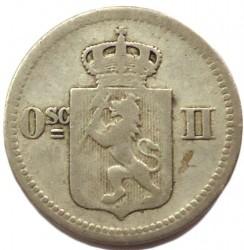 سکه > 10اوره, 1874-1875 - نروژ  - obverse