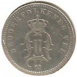 Coin > 10ore, 1875-1903 - Norway  - reverse