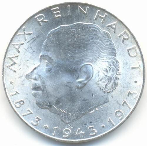 25 Schilling 1973 Max Reinhardt österreich Münzen Wert Ucoinnet