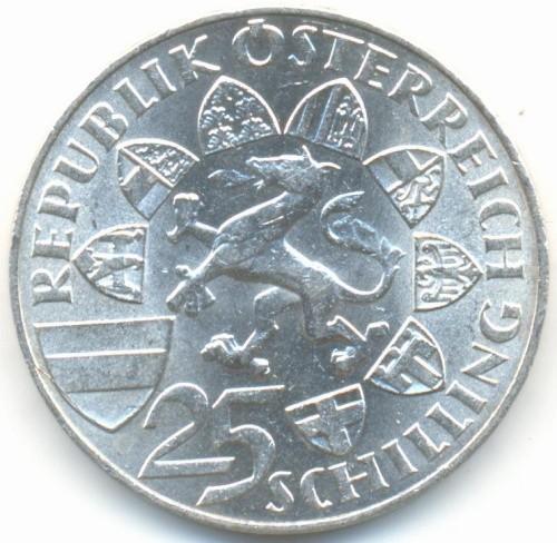 25 Schilling 1959 Erzherzog Johann österreich Münzen Wert