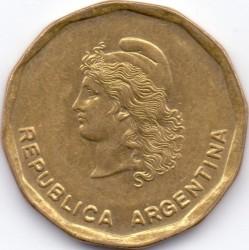 Mynt > 50centavos, 1985 - Argentina  - obverse