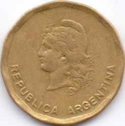 Mynt > 50centavos, 1986 - Argentina  - obverse
