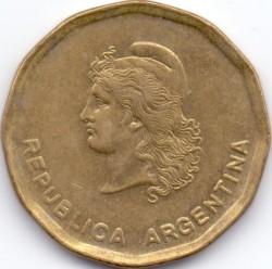 Монета > 50сентаво, 1985-1988 - Аргентина  - obverse