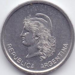 Кованица > 1цент, 1983 - Аргентина  - obverse