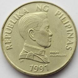 Mynt > 5piso, 1991-1994 - Filippinene  - obverse