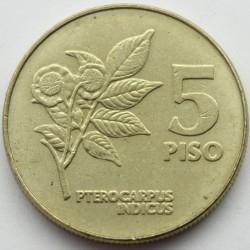 Mynt > 5piso, 1991-1994 - Filippinene  - reverse