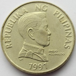 Moneta > 5pesos, 1991-1994 - Filipiny  - reverse
