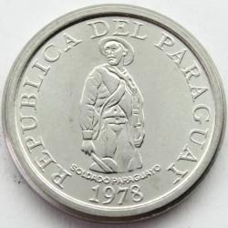 Coin > 1guarani, 1978 - Paraguay  - obverse