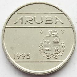 Moneta > 10centų, 1995 - Aruba  - obverse