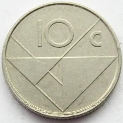Moneta > 10centų, 1995 - Aruba  - reverse