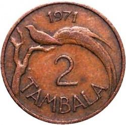 Монета > 2тамбалы, 1971-1982 - Малави  - obverse
