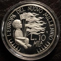 Moneta > 10000lire, 1998 - San Marino  (L'Europa del nuovo millennio) - reverse