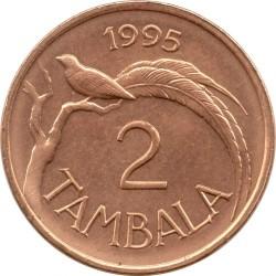 Монета > 2тамбалы, 1995 - Малави  (Бронза /не магнетик/) - reverse