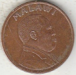 Монета > 2тамбалы, 1995 - Малави  (Сталь с медным покрытием /магнетик/) - reverse