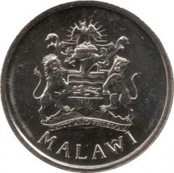 Монета > 5тамбал, 1995 - Малави  (Герб на аверсе) - obverse