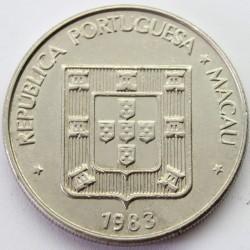 Moneta > 1pataca, 1982-1985 - Makau  - obverse