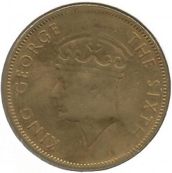 Coin > 1 penny, 1950-1952 - Jamaica  - obverse