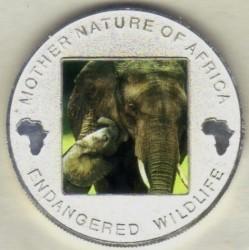 Moneta > 10kwacha, 2004 - Malawi  (Ochrona przyrody - Słoń) - reverse