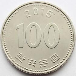 Moneta > 100vonų, 2015 - Pietų Korėja  - reverse