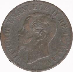 Moneta > 2čentezimai, 1861-1867 - Italija  - obverse