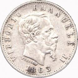 Moneta > 20čentezimų, 1863-1867 - Italija  - obverse
