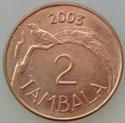 Münze > 2Tambala, 2003 - Malawi  - reverse