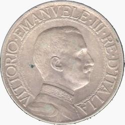 Moneta > 1lir, 1908-1913 - Włochy  - obverse
