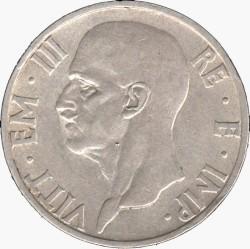 Moneta > 5liros, 1936-1937 - Italija  - obverse