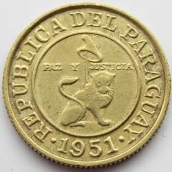 Coin > 50céntimos, 1944-1951 - Paraguay  - obverse