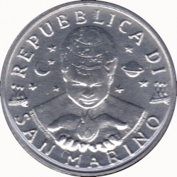 Монета > 2ліри, 1997 - Сан-Марино  - obverse