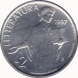 Монета > 2ліри, 1997 - Сан-Марино  - reverse