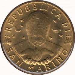 Moneda > 20liras, 1997 - San Marino  - obverse